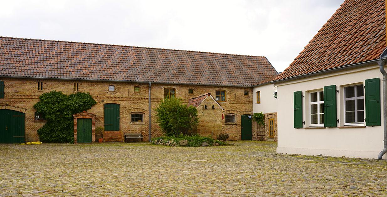 Bauerngut Thielicke, Hof