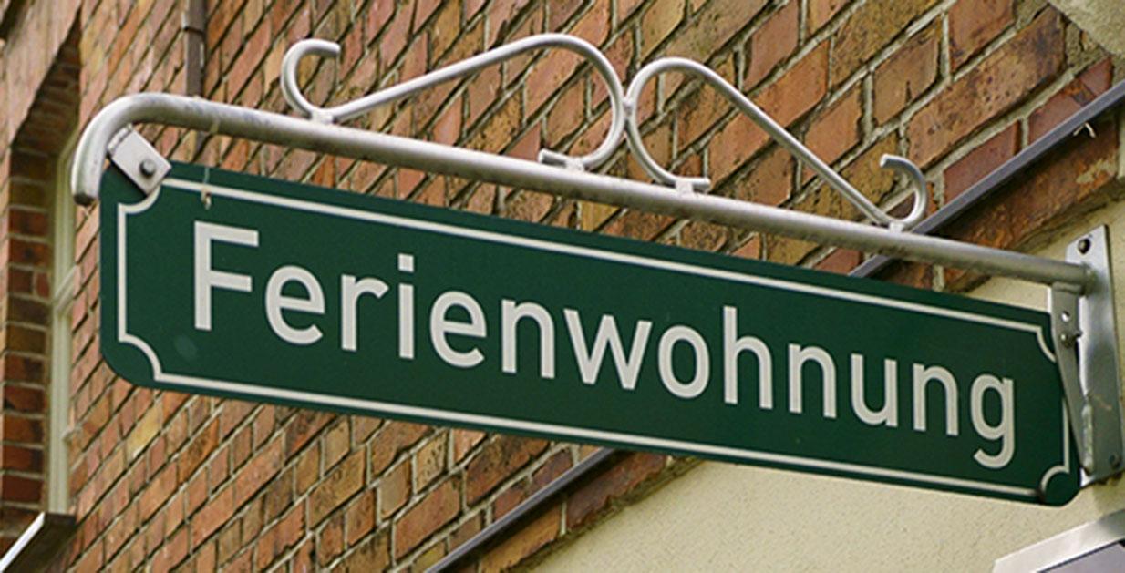 """Schild """"Ferienwohnung"""""""